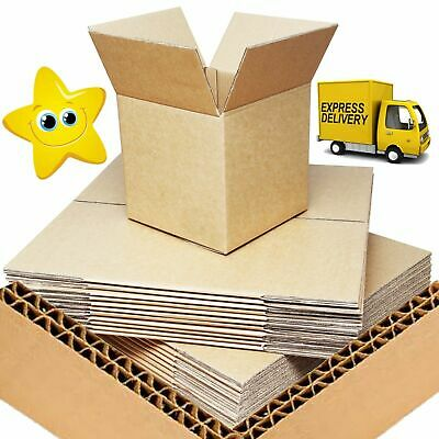 """25 x THICK D//W Moving Cardboard Cartons Boxes 14x10x12/"""""""