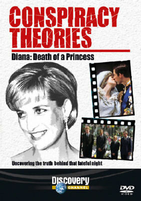 Conspiracy Theories Diana Death Of A Princess DVD New & Sealed