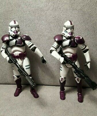 Star Wars action figures 187th Attack Battalion Clone Troopers