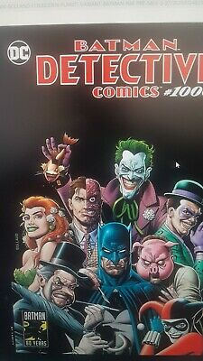 Detective Comics # 1000 Exclusive Fp Brian Bolland Color Variant-  Dc Comics