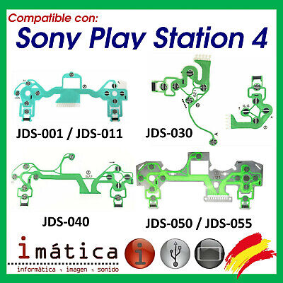 Cable Flex Mando Sony Ps4 Jds-055 Jdm-050 Playstation 4 Ribbon Botones Conductor