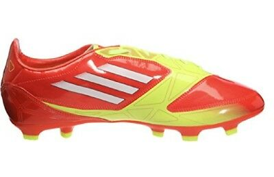 daca11b77 ADIDAS F10 FG Football Boots Firm Ground Red Mens Lace Moulded Studs ...