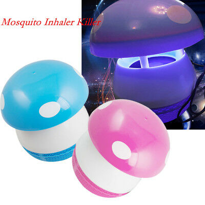Portable Mosquito Inhaler Killer Lamp Indoor Use Cute Night Light Silent Tool