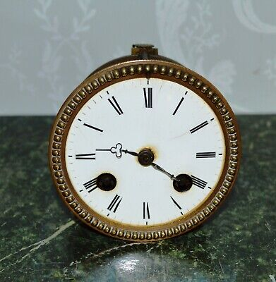 Antique French Clock Movement Striking on a Bell Working