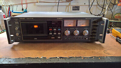 TEAC C-3X Three Head Cassette Deck - Serviced and Tested