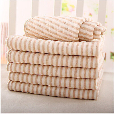 Practical Baby Changing Soft Cotton Changing Pad Liner Cover Infant Diaper Mat