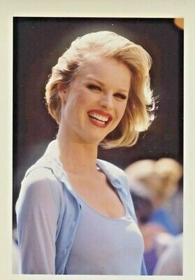 Eva HERZIGOVA Photo Presse Originale  NEY YORK SOHO 1997