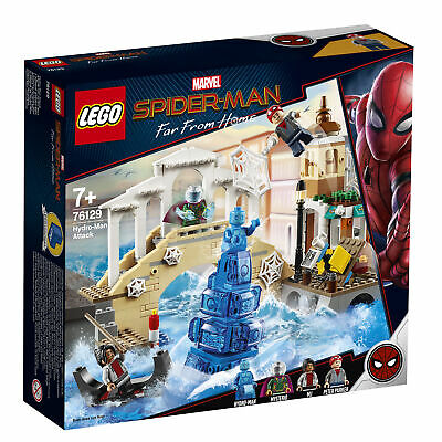 76129 LEGO MARVEL Super Heroes Hydro-Man Attack Spider-Man Far From Home 471pcs