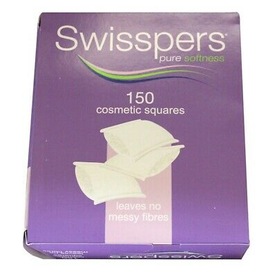 Swisspers Cotton Wool Square Pads 150pkt
