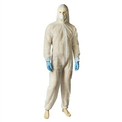 Coverall Polypropylene White