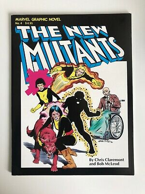 Marvel Graphic Novel #4 | 1st Appearance of The New Mutants | 1st Print | 1982 h