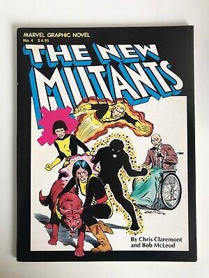 Marvel Graphic Novel #4 | 1st Appearance of The New Mutants | 1st Print | 1982 i