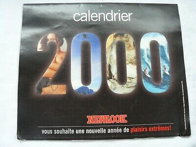 Calendrier Newlook 2002