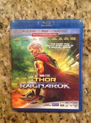 Thor: Ragnarok (Blu-ray Disc ONLY, 2018)Authentic Disney US Release