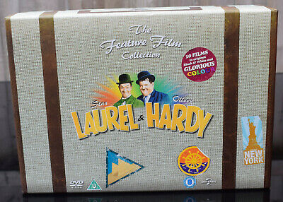 Laurel &  Hardy The Feature Film Collection ~ 10 Dvd Box Set *Only 2 Discs Used*