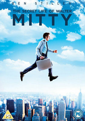 The Secret Life of Walter Mitty DVD New & Sealed 5039036065528