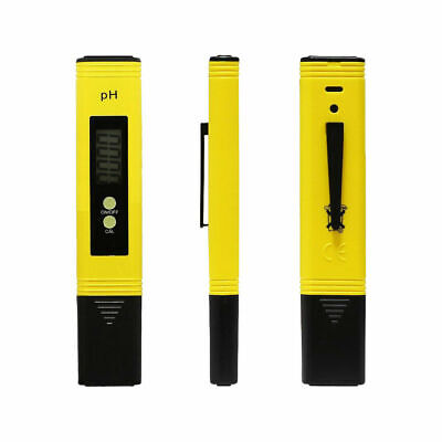 Digital LCD PH Meter Pen Tester Accuracy 0.1 Aquarium Pool Water Wine Urine - UK