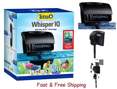 Tetra Whisper IQ Power Filter for 20 Gal Aquariums| With Quiet Technology