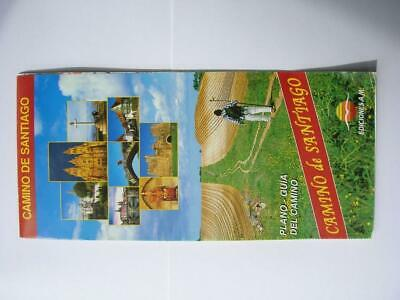 Camino de Santiago (Camino Frances) Pilgrim Guide Map - Fold Out