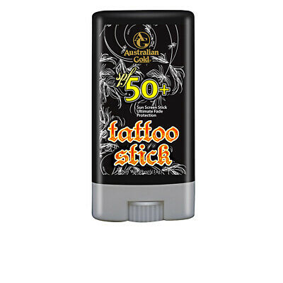 Cuidado Solar Australian Gold unisex TATTOO STICK SPF50+ sun screen stick 15 ml