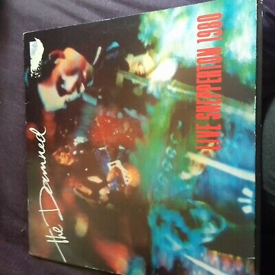The Damned Live Shepperton 1980 Ace Ned 1 Vg/G Love Song New Rose Smash It Up