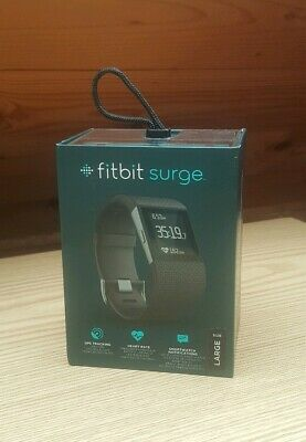 Fitbit Surge - Fitness Super Watch - Black - Large - Free Delivery!!!