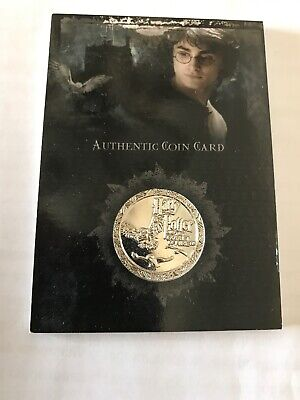 Harry Potter 2006 Artbox Coin Card