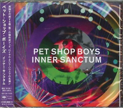 Japan Exclusive 2Cd Edition Sent From Berlin! Pet Shop Boys Inner Sanctum 2019