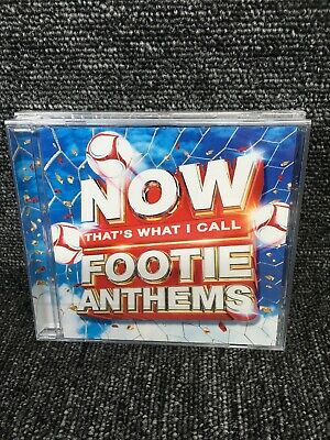 Now That's What I Call Footie Anthems CD NEW Sealed Album. Freepost In Uk