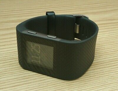 Fitbit Surge Fitness Super Watch - Black - Large - Free Delivery!!!