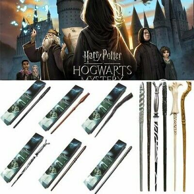 Harry Potter Resin Magic Wand Hermione Dumbledore Stick Cosplay Collection Boxed