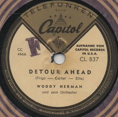 """78er Jazz Swing Woody Herman Orchestra """"Not Really The Blues"""""""