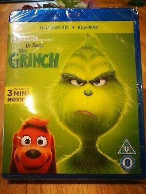 The Grinch Blu-Ray 3D + Blu -Ray