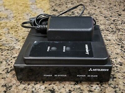 Mitsubishi 3DA-1 3D Adapter /w ac adapter and remote | excellent condition