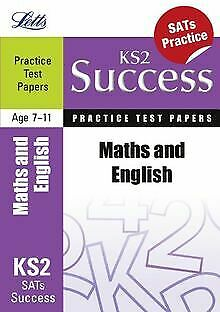 Maths and English: Practice Test Papers (Letts ... | Book | condition acceptable