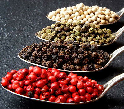 Whole Peppercorns, Black Green Pink Red Sichuan White Mixed Pepper TOP Quality