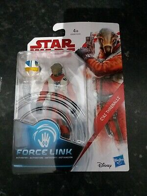 Star Wars The Last Jedi C'ai Threnalli Force Link Action Figure Resistance