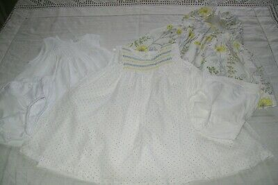 Baby girl clothes M & S/baby Gap/The White Co 3-6m -combined postage available