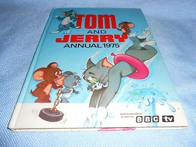 Vintage UK Annual - TOM & JERRY Annual - 1975