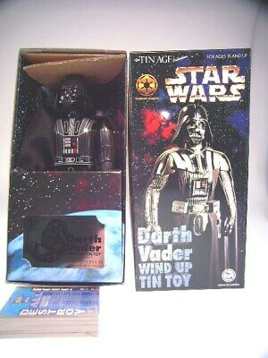 "gsTOP GSCOM STAR WARS TIN AGE ""DARTH VADER"" OSAKA TIN TOYS, 24cm, NEW/NEUFnBOX"