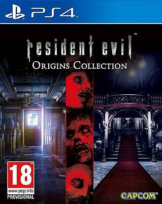 Resident Evil Origins Collection Ps4 Eu Nuovo Playstation 4 Italiano Hd Remaster