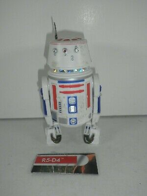 """Star Wars The Black Series 40th Anniversary R5-D4 Hasbro Complete 6"""" Scale"""