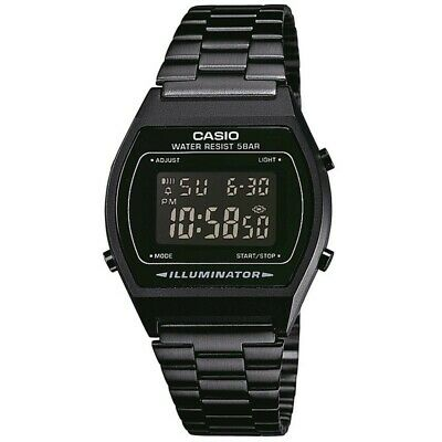 Brand New Casio B640WB-1AEF Vintage Retro Black Digital Unisex Watch