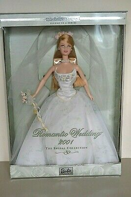 2001 Collector Edition The Bridal Collection ROMANTIC WEDDING Barbie