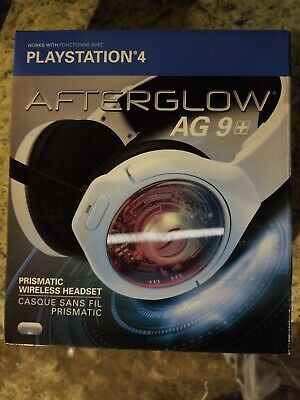 PDP Afterglow AG 9+ Wireless Headset for PlayStation 4 Chat Boom PS4