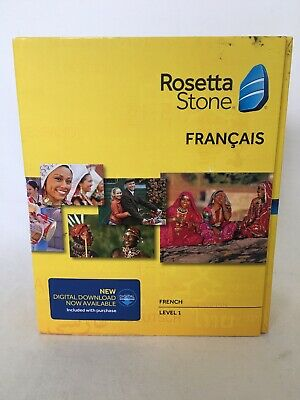 Rosetta Stone German Deutsch Level 1 Version 4 Brand New Sealed