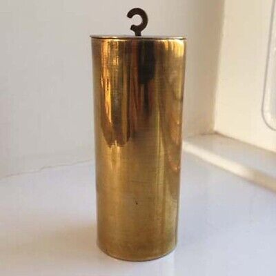 Vintage Brass Cased Single Weight Vienna Weight