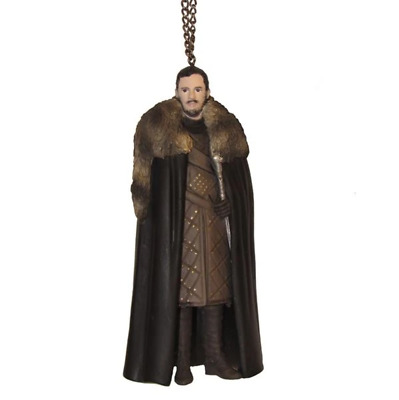 Kurt Adler Game of Thrones Jon Snow Christmas Ornament