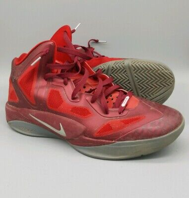 the latest 460bb 979a3 NIKE ZOOM HYPERFUSE 2011 SUPREME SZ 12 Team Red Grey 469757-600 hyperdunk