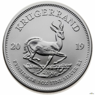 2019 1oz South Africa Krugerrand .999 Fine Silver Coin